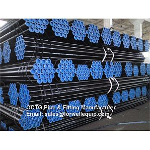 "API 5L Line Pipe 4"" Sch40 DRL BE seamless carbon steel pipe"