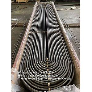 ASTM A556 GR C2 Seamless Cold Drawn Carbon Steel Feedwater Heater U-Tubes