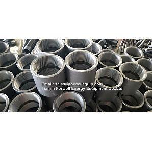 "NPT threaded Couplings 1/2"" Carbon Steel"